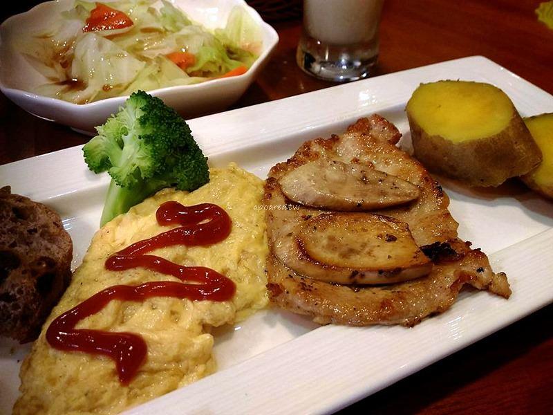 梧桐吾同@美術館商圈咖啡館 健康清爽中西式早午餐