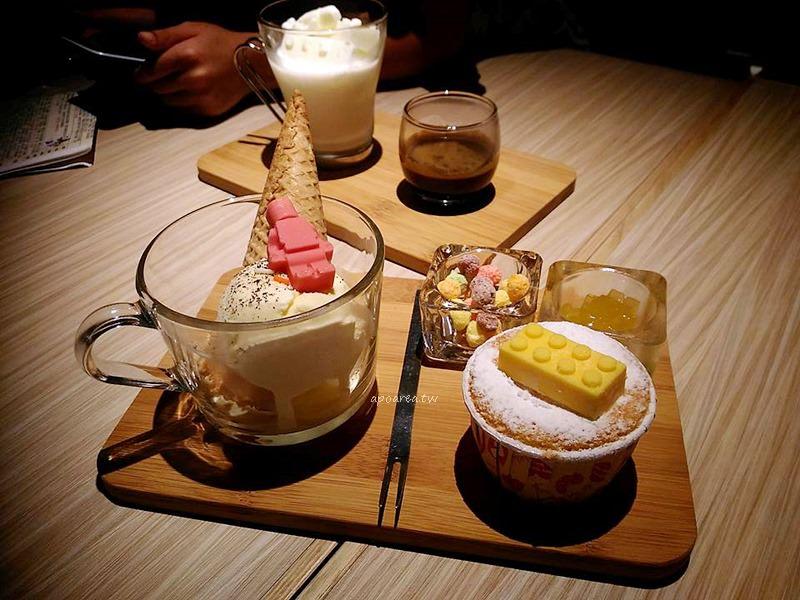 食趣所|在地台味創意混搭美食 展覽期間限定積木甜點飲品 台中文創園區