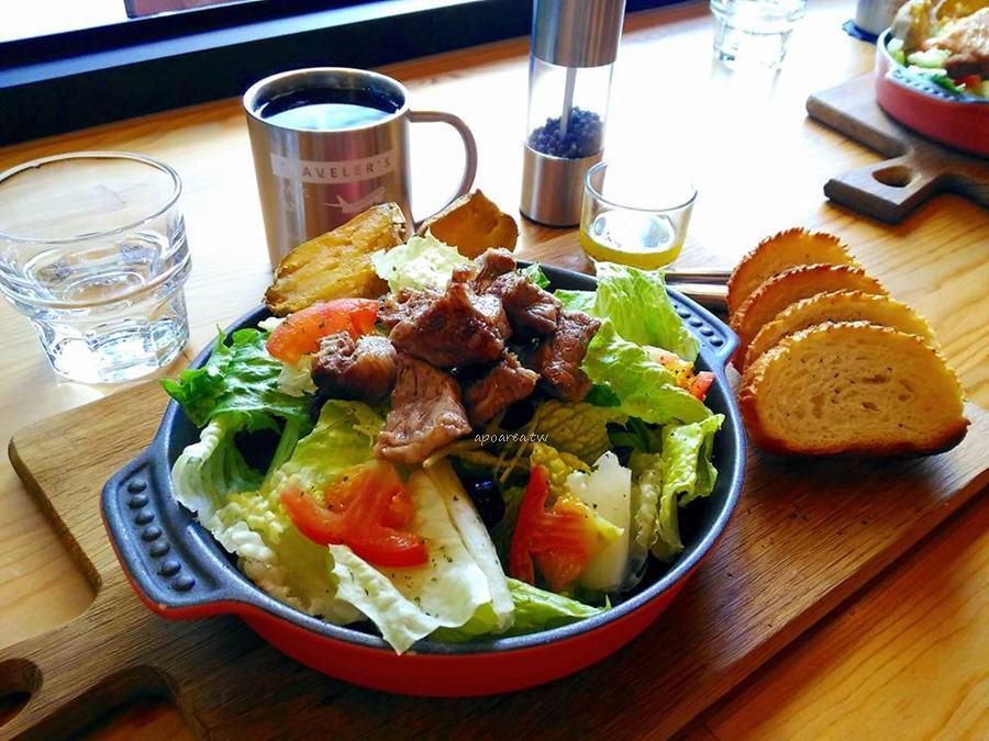 牧熊小館|台中巷弄人氣早午餐 享受都市裡的寧靜小清新