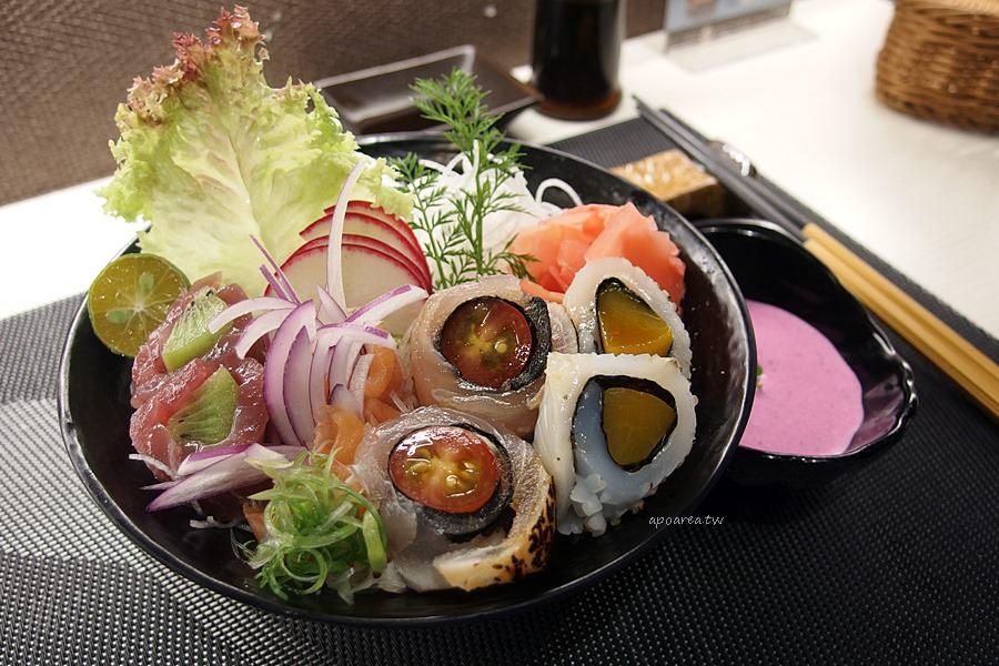 鯣口鮮板前料理/壽司/外帶|創新米食派蒂海勒 與蔬果逬出繽粉火花 顛覆丼飯料理 家樂福豐原店