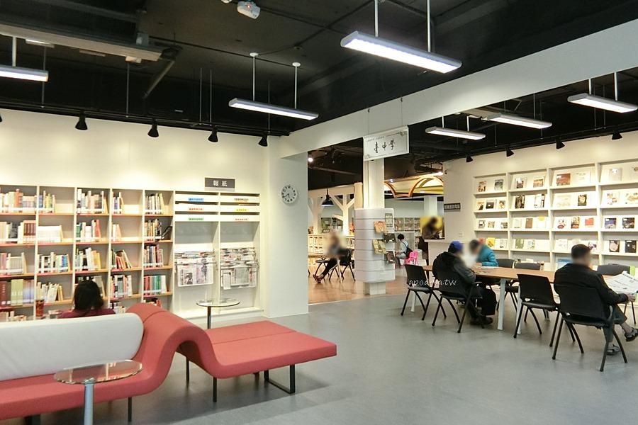 20180223194430 55 - 一中商圈舊圖書館重新開幕 戶外閱讀輕食區寬敞舒適 可愛兒童閱覽區  落地窗綠林好風景