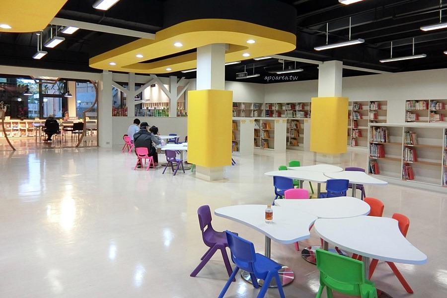 20180223194444 4 - 一中商圈舊圖書館重新開幕 戶外閱讀輕食區寬敞舒適 可愛兒童閱覽區  落地窗綠林好風景