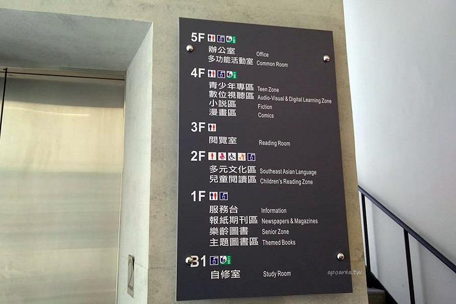 20180329145014 69 - 圖書館北區分館|清水模樓梯 玻璃磚造型外牆 有自修室 台中特色圖書館 原北區區公所