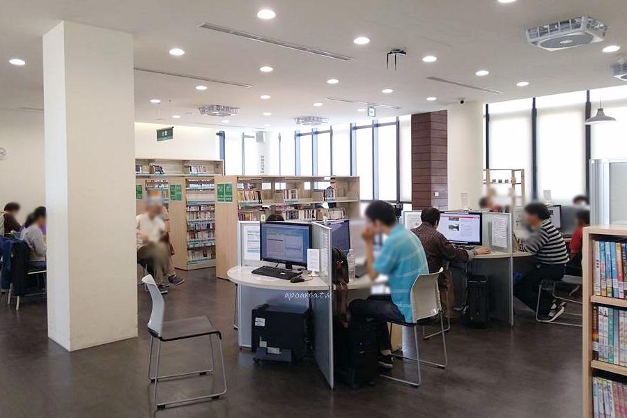 20180329145224 7 - 圖書館北區分館|清水模樓梯 玻璃磚造型外牆 有自修室 台中特色圖書館 原北區區公所