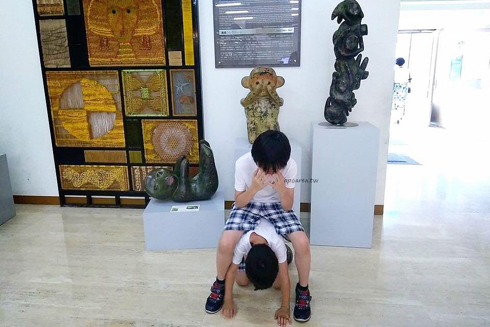 20180416111649 67 - 假日來賞猴 獼猴雕塑展可愛討喜 免費參觀 廖飛雄雕塑個展 豐原葫蘆墩文化中心