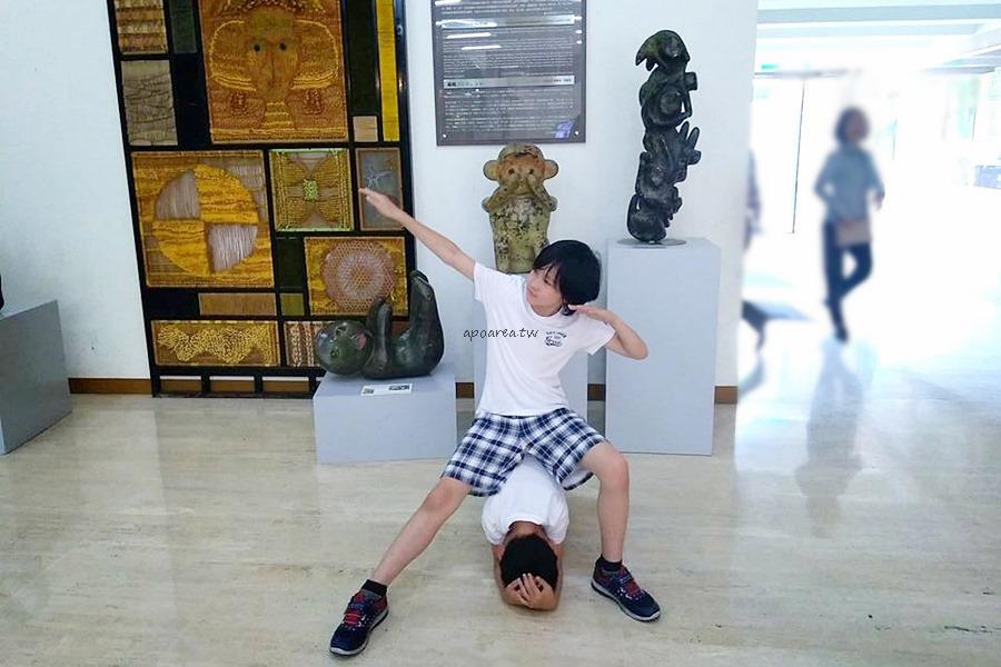 20180416163709 32 - 假日來賞猴 獼猴雕塑展可愛討喜 免費參觀 廖飛雄雕塑個展 豐原葫蘆墩文化中心