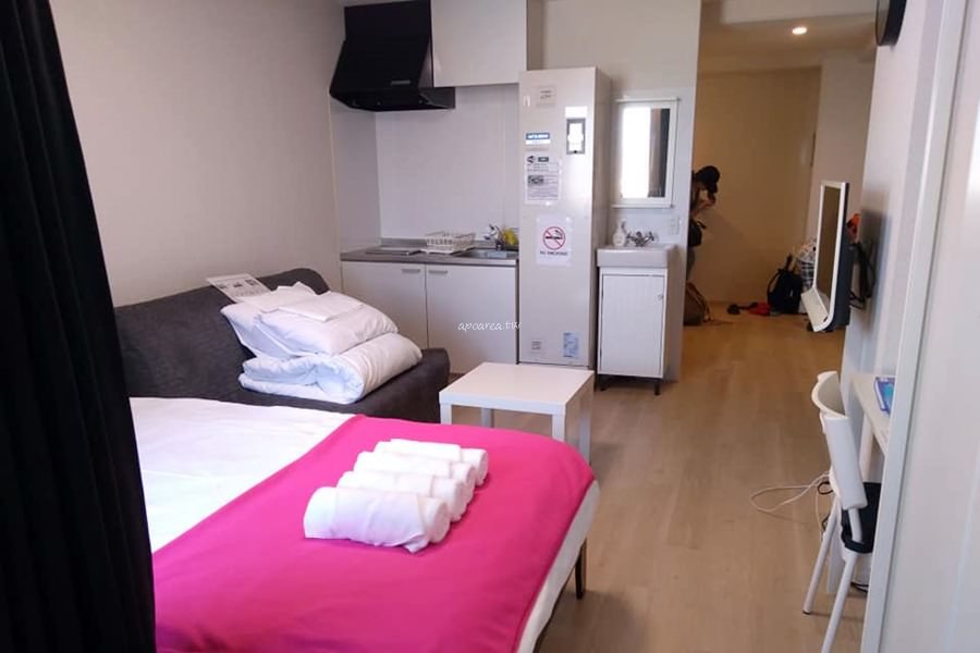 大阪城際公寓式飯店|附小廚房洗衣機 免費WiFi 四天王寺旁 週邊景點多 熱鬧好逛買