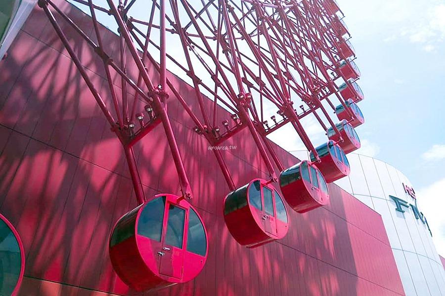 HEP FIVE摩天輪|大阪周遊卡免費景點設施 享受15分鐘高空風景 5歲以下免費 日本大阪親子旅行