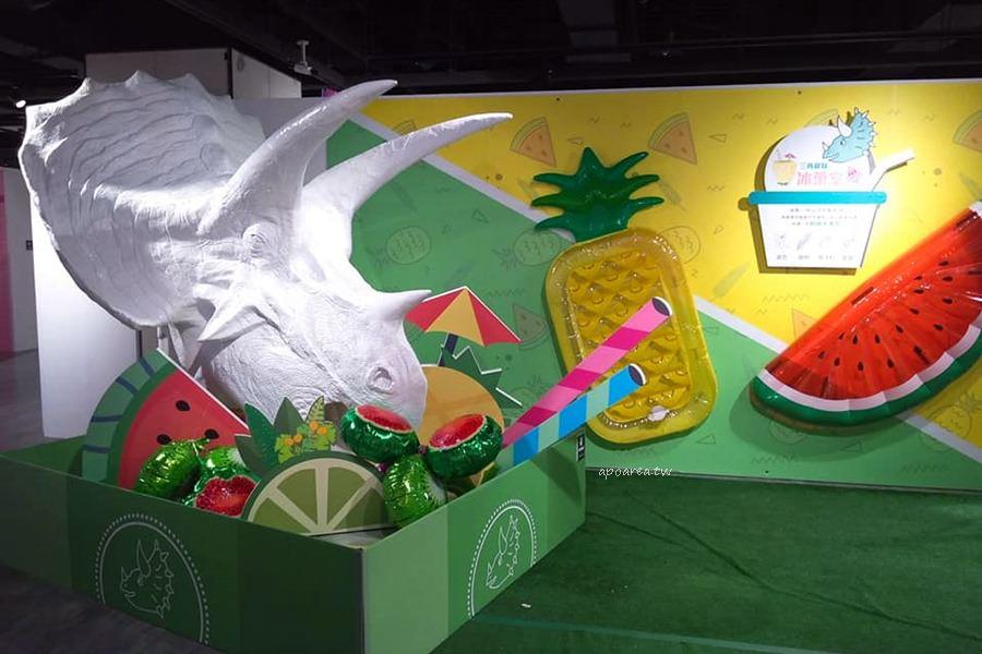 20180820192441 68 - WOW!恐龍來了 超萌暴龍粉紅生鮮超市 免費入場 新光三越暑假童樂會倒數中