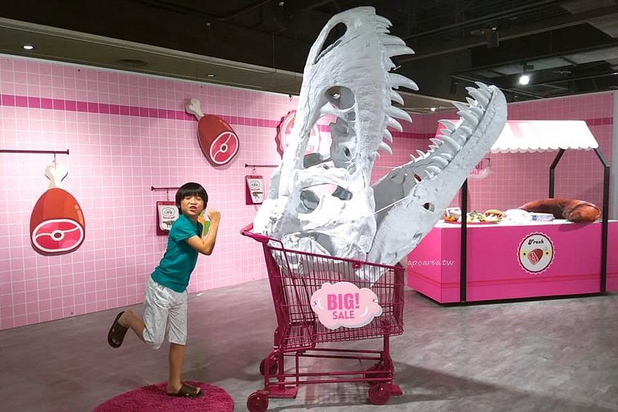 20180820195135 22 - WOW!恐龍來了 超萌暴龍粉紅生鮮超市 免費入場 新光三越暑假童樂會倒數中