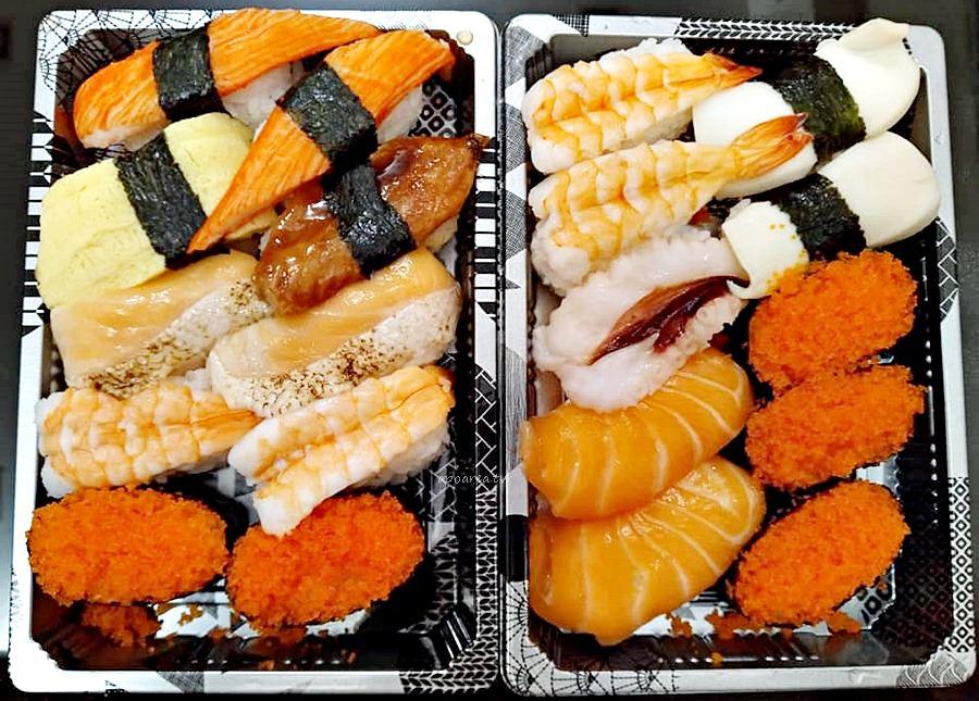 20181031111253 77 - 爭鮮中友百貨店|外帶精緻餐盒種類多 一貫壽司10元起 美味不變價格更便宜