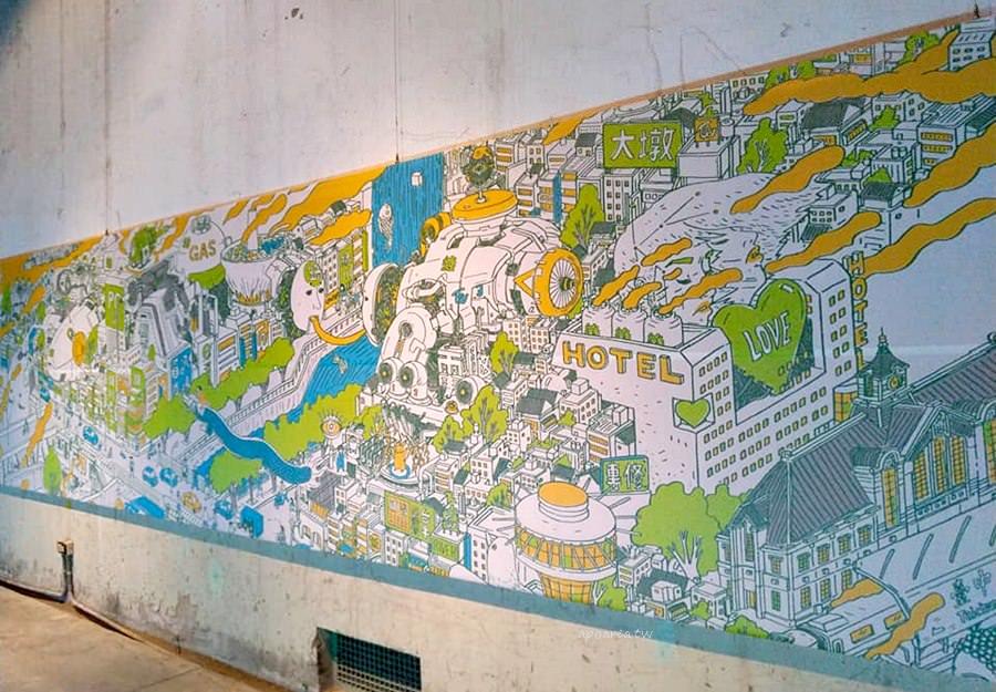 20190105143119 34 - 島中流域展|一起來走進河川看展覽 彩繪孔蓋下的河川在地城事 臺中文資園區免費參觀