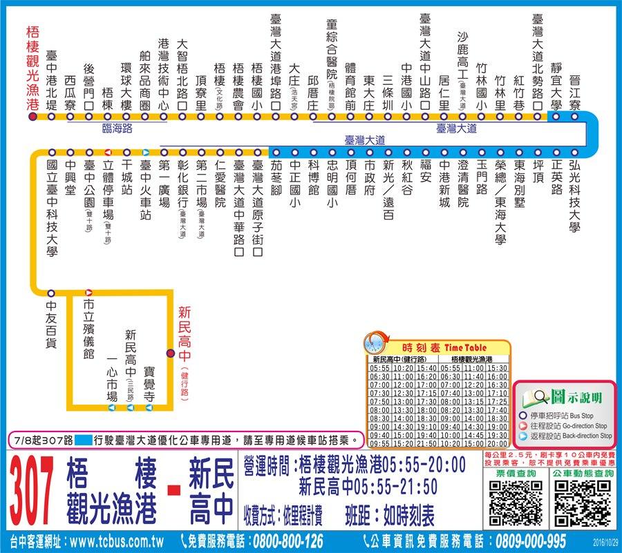 20190109095807 66 - 如何從台中火車站搭公車到台中三井outlet 臺中市公車十公里免費 310 308 306 307皆可到達
