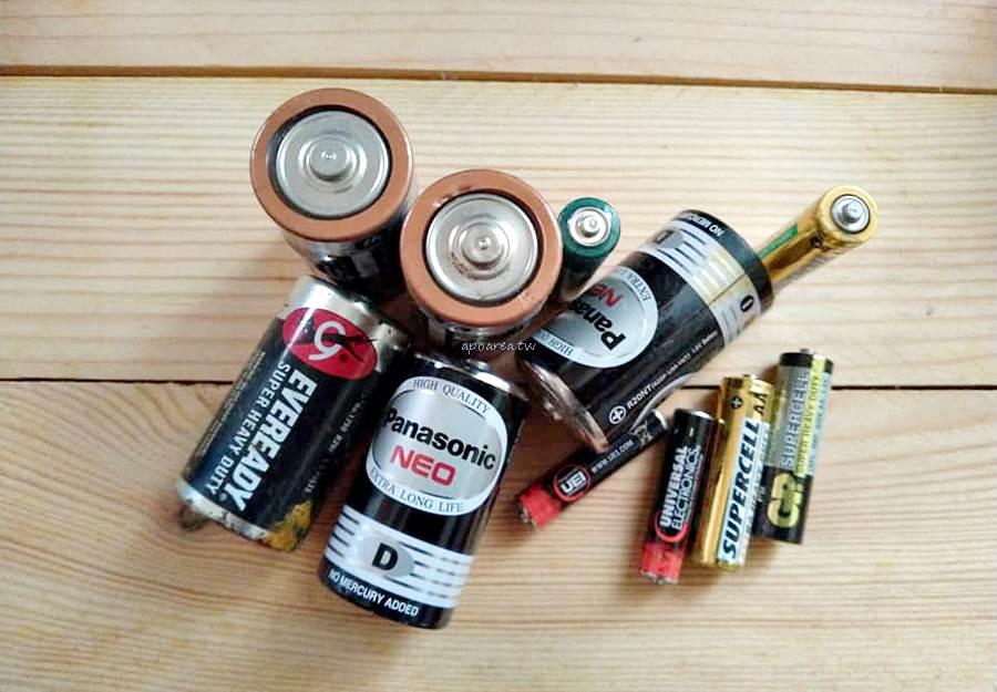 20190412134839 26 - 廢電池換包裝米 洗衣精 沐浴乳等即期品 四月底前台中兩地點可兌換 資源回收不浪費