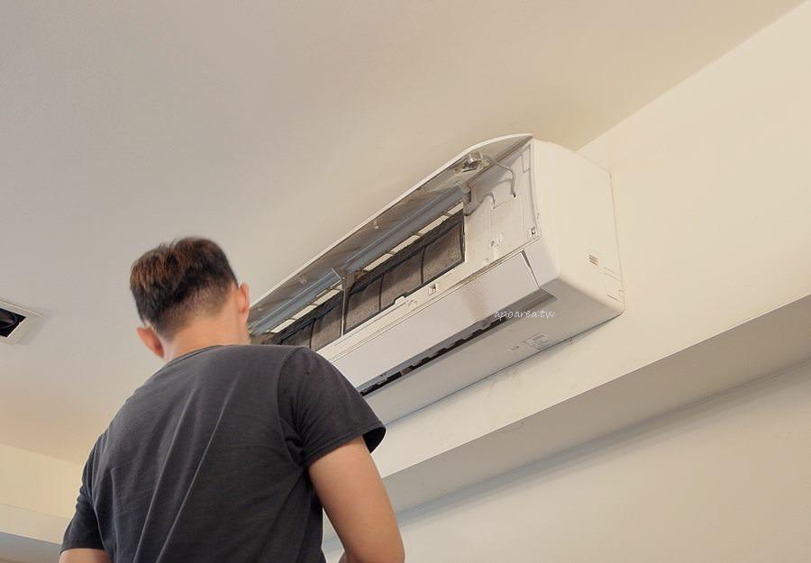 20190522232849 51 - 熱血採訪|洗樂優(洗了唷)清洗家|只洗濾網是不夠的 小心冷氣變黴氣 冷氣機專業到府清潔 台中洗冷氣推薦