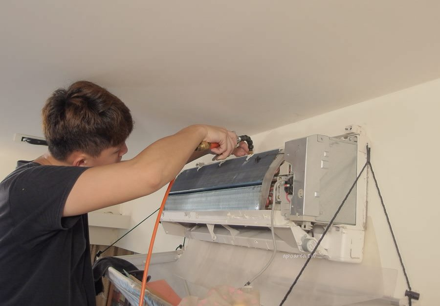 20190522234017 13 - 熱血採訪|洗樂優(洗了唷)清洗家|只洗濾網是不夠的 小心冷氣變黴氣 冷氣機專業到府清潔 台中洗冷氣推薦