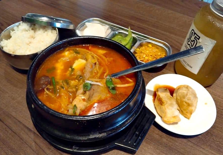 20190911081512 84 - 一起肉肉吧|中友百貨對面 韓式定食料理 韓國小湯鍋 石鍋飯等159元起還有銅盤烤肉吃到飽