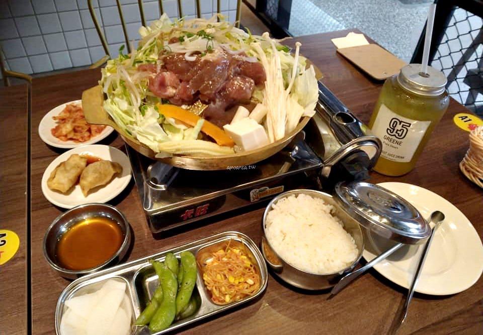 20190911081609 74 - 一起肉肉吧 中友百貨對面 韓式定食料理 韓國小湯鍋 石鍋飯等159元起還有銅盤烤肉吃到飽
