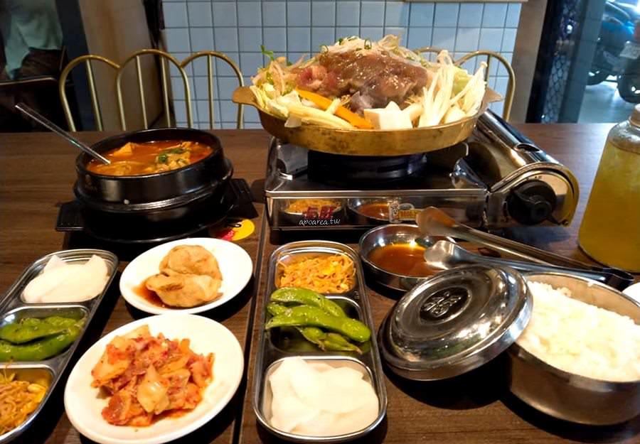 20190911081645 89 - 一起肉肉吧 中友百貨對面 韓式定食料理 韓國小湯鍋 石鍋飯等159元起還有銅盤烤肉吃到飽