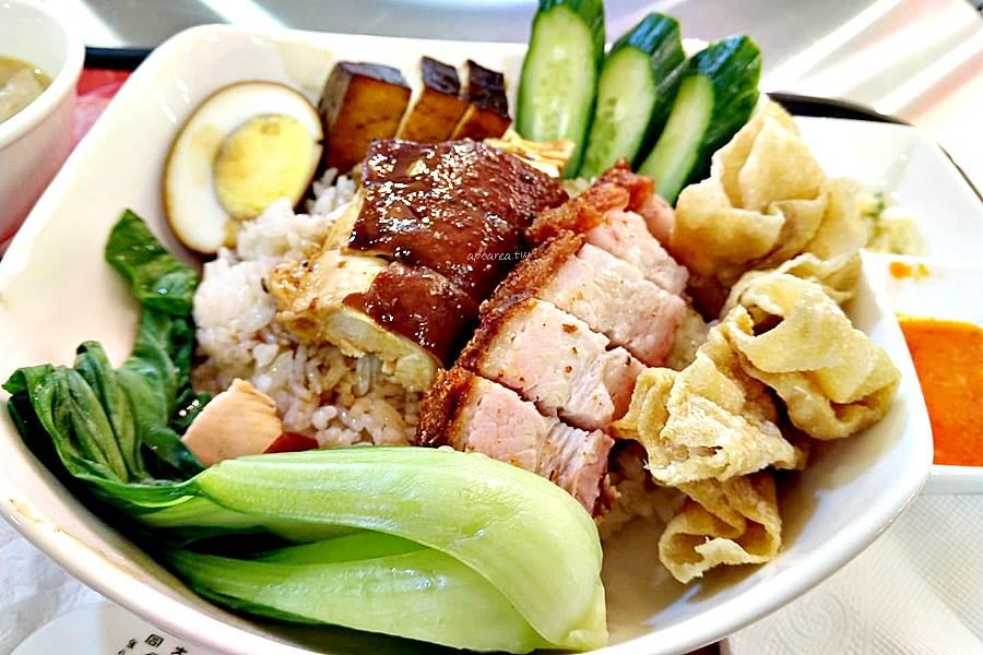 20200325094947 96 - 海記醬油雞飯|新加坡60年歷史老店,醬油雞燒肉飯香鹹美味,免費雞骨湯,中友百貨美食街新店