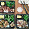 酒ㄊㄨㄚ。昌平路懷舊餐廳外帶便當120元,平假日都有,台灣古早味熱炒料理也能外帶
